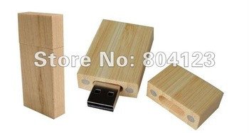 Wholesalle! Hot sale Cuboid 2gb 4gb 8gb 16gb 32gb 64gb usb flash disk  wooden usb disk free shipping full Capacity