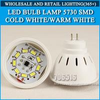 5pcs/lot LED Bulb Lamp lights MR16 GU5.3 AC220V 230V 240V Warm white/cold white 4W 6W 5730SMD Free shipping