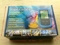 Best Portable Sonar Fishfinder Alarm Fish Finder Wireless LCD display screen Free Shipping