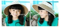 new arrival  kids girls straw  sun  beach summer hats caps