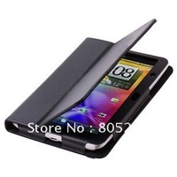 Free shipping+wholesale For HTC Flyer P510e Smart Cover Stand Slim Leather Case Skin Cover