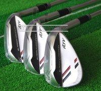 Hot Sell New Golf Clubs ATV Golf Wedges 52.54 56 58.60 loft 3pcs/lot Regular Golf shaft Club set Free Shipping