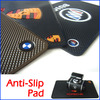 Wholesale Powerful Silica Magic Sticky Pad Anti-Slip Pad Non Slip Mat for Phone PDA mp3 mp4 (Black) Free Shipping 10pcs/lot