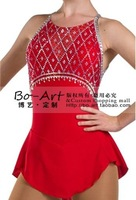 BOART hot sales Ice Skating Dress Beautiful Figure New Brand Ice Dress Competition customize A2057