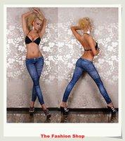 Fashion Ladies' Leggings Free Size NA7882,blue