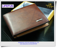 2013 new man GENUINE LEATHER Wallet short section of purse wallet LF06459 06460 06429