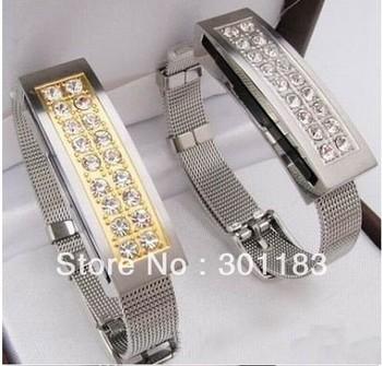 gifts 16GB Bracelet Diamond  flash drive,crystal wristband usb