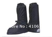Super Motorcycle moto Waterproof Rain Reflective Boot Shoe Covers (Nylon+Rubber)Free shipping