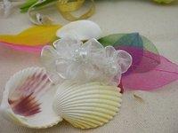Free Shipping Cheap Bridal Clothing White Wedding Flower Hair Pin Jewelry Good Sale 7.5*2.8*2.8cm 200pcs/Lot