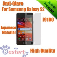 Free DHL, 200Pcs/Lot, For Samsung Galaxy S2 i9100 Screen protector, Anti-Glare screen protector With Retail Package, High Qualit