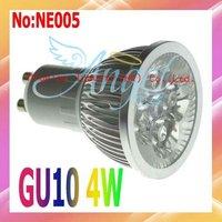 2 Pieces/lot 4W LED Spot Light GU10  Free shipping  Wholesale #NE005