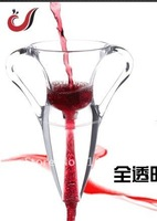 Drop shipping , red wine Aerator,  Magic Decanter with bag,  hopper magic decanter , gift boxes, angel design