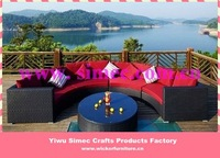 outdoor synthetic rattan furniture  SCSF-022