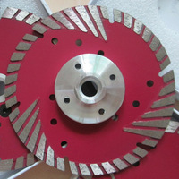 "125mm dry cutting blade with flange/diamond turbo cutting blade with flange(M14,5/8""-11 available)"