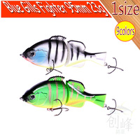 Free Shipping fishing lure jointed bait Blue gills fighter 95mm 23g 9colors jerk bait