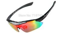 Men and women polarized sports fashion sunglasses UV protection 5pcs lens driving sun glasses  PC goggles for  skiing climbing