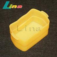 20pcs/lot Yellow Bounce Flash Diffuser Cover for Speedlite YONGNUO YN-565EX YN-560 Canon 580EX II Free Shipping