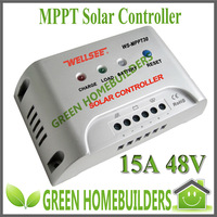 CE RoHS  MPPT intelligent solar charge controller 15A 48V