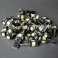 Wholesale 100pcs/Lot Canbus T10 5smd 5050  LED car  Light + Canbus NO OBC ERROR White12v