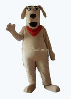 deluxe dog mascot costume adult mascot animal character mascots advertising mascot