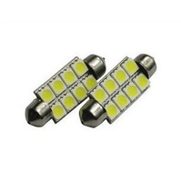 39mm 8 5050 SMD LED Festoon Dome Light Auto Lamp  indicator