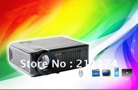 LED Home Theater Projector with DVB-T TV tuner HDMI USB china factory supply directly low price,HOT & Free Shiping!!!