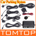 Car Parking Sensor Car Reversing Backup Radar Sound Alert+4 Sensors Free Shipping Dropshipping Wholesale