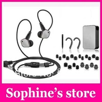 Wholesele  New  Earphones IE80 IE-80 Black in-ear Earphone Professional Portable for PSP/MP4/MP3/iPhone/iPod