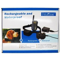 300 Meters Remote Rechargeable And Waterproof  With LCD Display Pet Training Products For 2 Dog