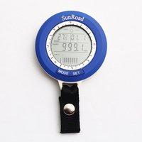 Free Shipping Mini LED Digital Fishing Barometer Waterproof Multi temp reels lure line fish finder