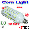 Dropship 30w E27 LED Corn Light  (E14) 5050 SMD 165 LEDs Bulb Lighting  220V ( 110v ) warranty 2 years CE ROHS -- free shipping