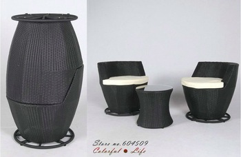 Top Sale material/Alu. frame rattan furniture,YSF-N010,OEM