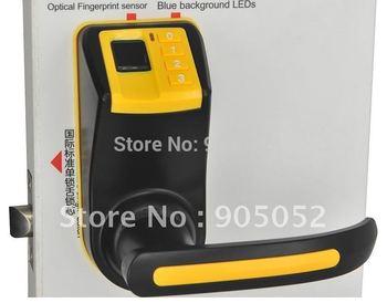 Cost effective  Reversible Handle Fingerprint lock door(fingerprint+password+mechanical key)+installation tool+2pcs latch bolt