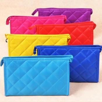 Toiletry Zip Cosmetic travel washing storage bag make up Organzier Ladies men Shower Camping 8 color handbag whcn+