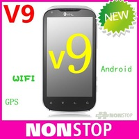 Original MTK6575 android phone THL V9 4.3&amp;quot; capacitive screen MTK 6575 1Ghz GPS WIFI Android 2.3 smartphone