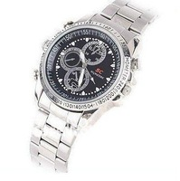 Free shipping  8GB  watch camera ,video resolution 1280, with retail box with 1pcs