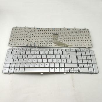 Laptop keyboard for HP Pavilion dv7 DV7T DV7Z dv7-1000 dv7-1100 German Keyboard Tastatur silver   (K963)