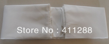 free shipping white rectangle tablecloths 140*240cm,  seamless, iron-free