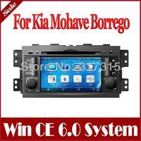 2-Din Auto Radio GPS Navigation Car DVD Player for Kia Mohave Borrego 2008-2013 with Navigator Bluetooth TV AUX Audio Multimedia