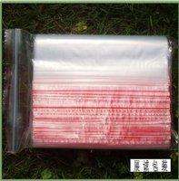 free shipping 1000p/lot small clear plastic zip lock bag pe zipper poly bag 7*10cm