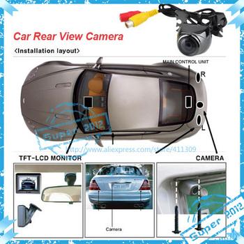 waterproof car camera car reversing camera cheap sale free shipping