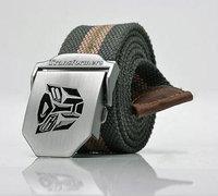 1PCS Men's Outdoor Strengthen Canvas Belt Length110CM*Width 4CM Free Shipping Wholesale Retail 9 Colors Y01