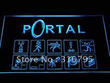 e068-b Portal Game Logo Neon Light Sign(China (Mainland))