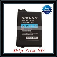 Free Shipping + Wholesale 10pcs/lot 3.6V 3600mah Battery For PSP2000/3000 Ship from USA-V2219