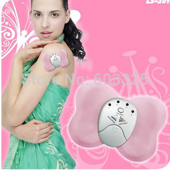 10pcs/lot Butterfly Design Electronic Slimming Body Muscle Massager free shipping with retail package
