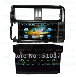 Toyota prado dvd with gps / In-Dash Radio Car DVD Player GPS System For Toyota prado 2010 2011 With Free Car GPS Map(China (Mainland))