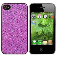 free  shipping Purple Bling Hard Case #8356