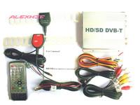 DVB-T Set Top Box (HD) CAR MOBILE TV Receiver DVB-T998B,dvb-t receiver MPEG4 HDMI Car TV tuner dvb-t tv receiver, free shipping