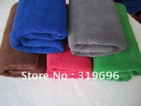 Free Shipping 10PCS Micro Fiber Towel Car Washing Cleaning Towel Hair Drying Towel Gift Towel 33*65cm Wholesale&Retail