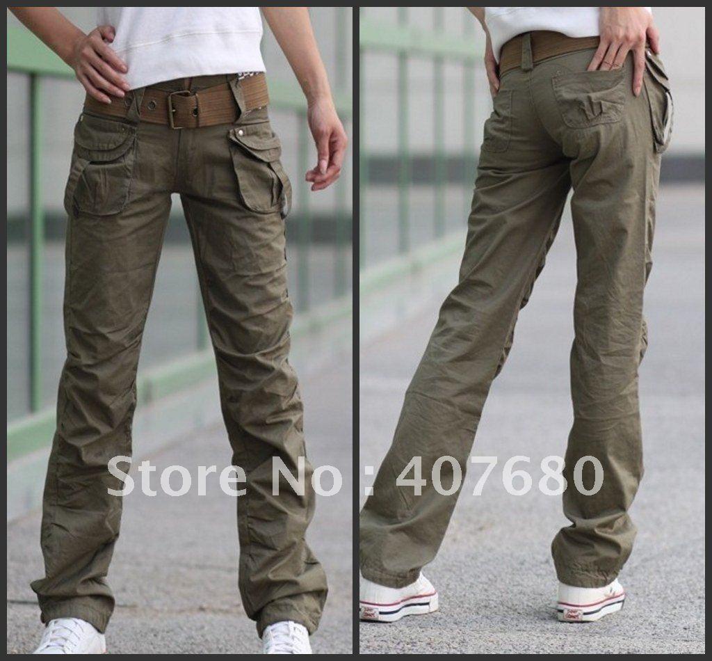 Innovative Faded Glory Women39s PlusSize Skinny Cargo Pants With Zipper Details